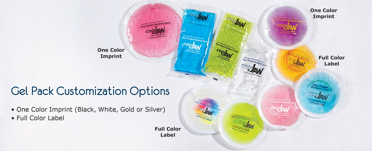 gel pack customization